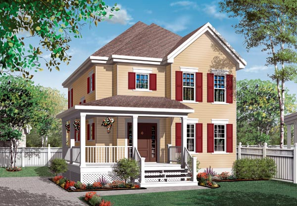 Country House Plan 76132 Elevation