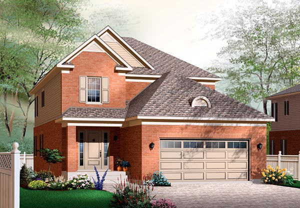 Traditional House Plan 76138 Elevation