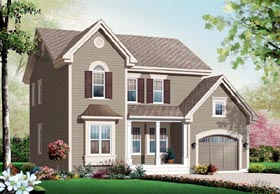 Traditional House Plan 76141 Elevation