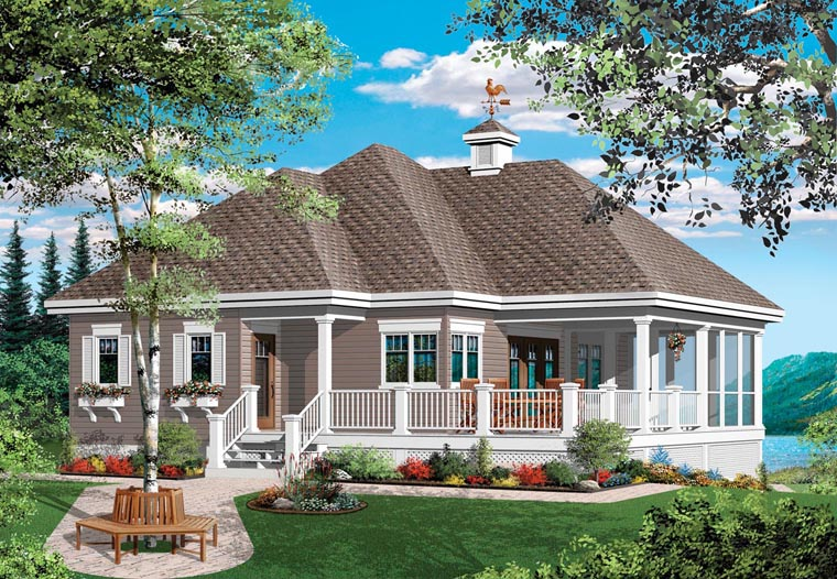 Traditional House Plan 76152 Elevation