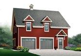 Garage Plan 76154