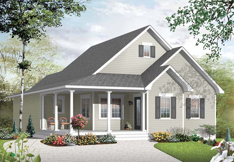Country House Plan 76162 Elevation