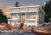 Plan Number 76166 - 480 Square Feet