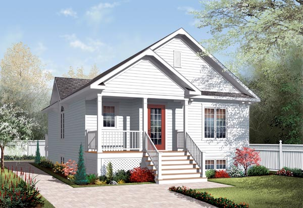 House Plan 76185 Elevation