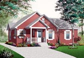 Plan Number 76188 - 1160 Square Feet