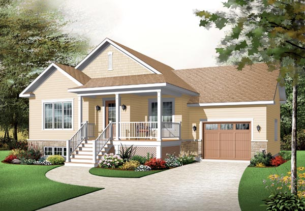 Country House Plan 76195 Elevation