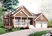 Plan Number 76198 - 1350 Square Feet