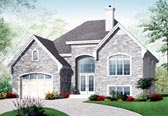 Plan Number 76199 - 1370 Square Feet
