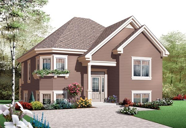 House Plan 76203 Elevation