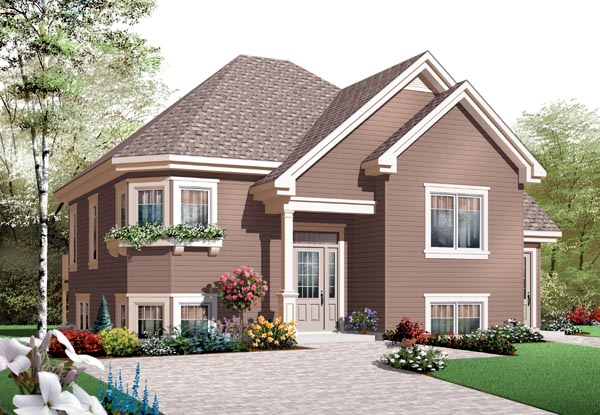 House Plan 76204 Elevation