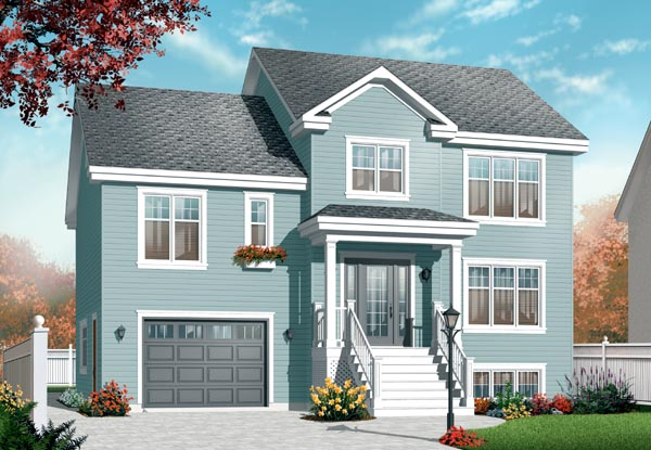 House Plan 76209 Elevation