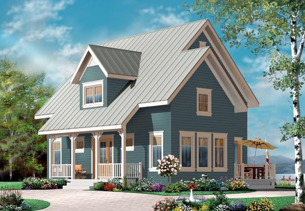 Country Traditional House Plan 76216 Elevation