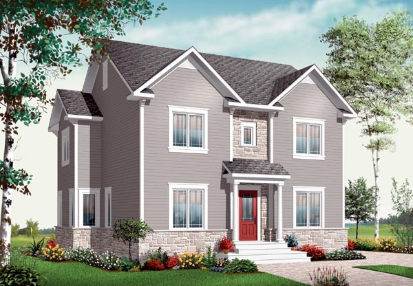 European Traditional House Plan 76220 Elevation