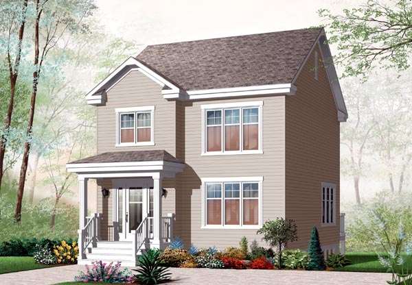 House Plan 76222 Elevation
