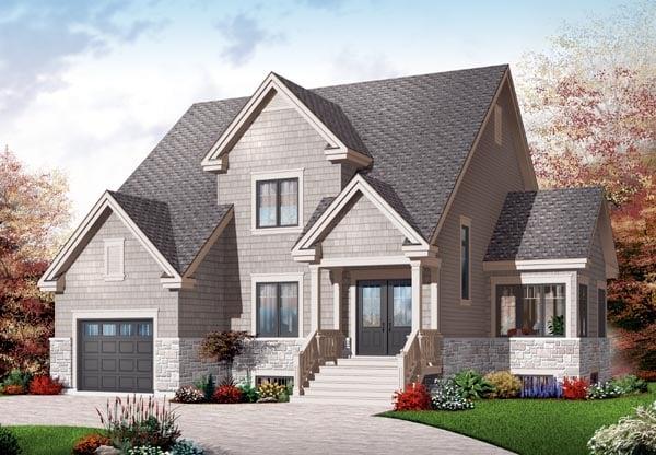 Craftsman House Plan 76223 Elevation