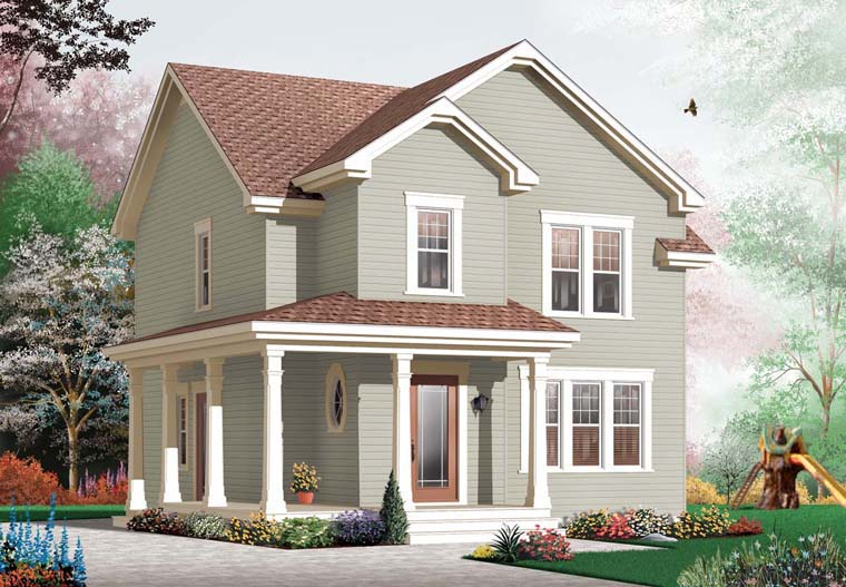 Country Traditional House Plan 76236 Elevation