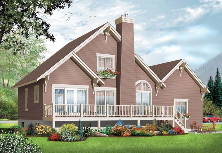 Coastal Country House Plan 76238 Elevation