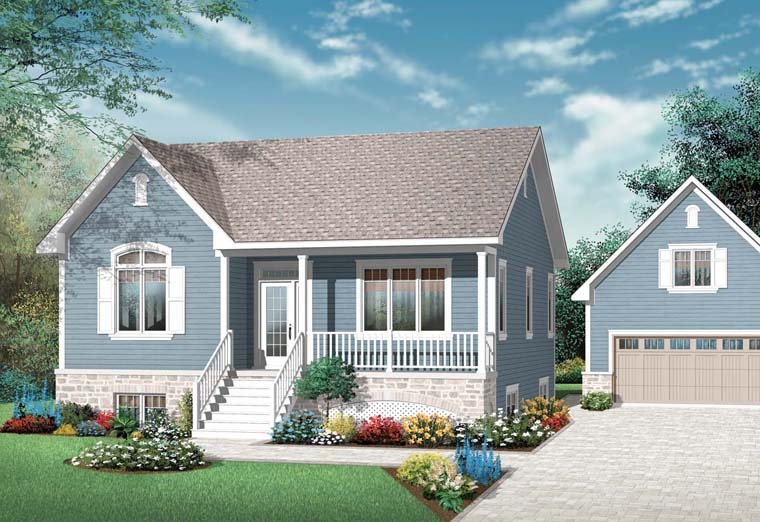 Traditional House Plan 76248 Elevation