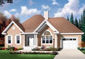 Plan Number 76249 - 1186 Square Feet