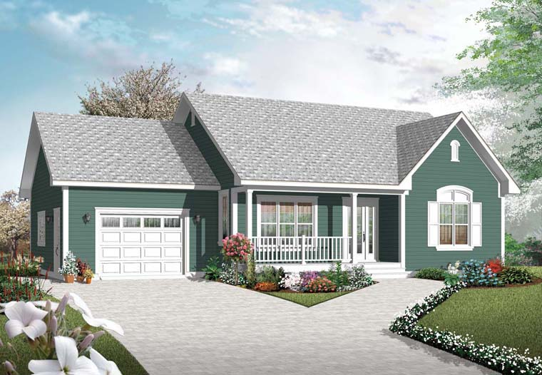 Traditional House Plan 76251 Elevation