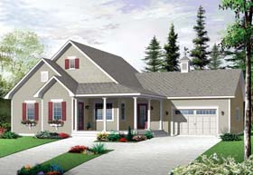 Country House Plan 76253 Elevation