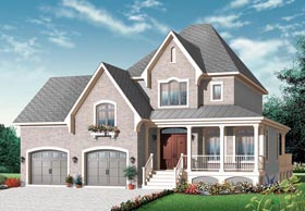 Traditional House Plan 76256 Elevation