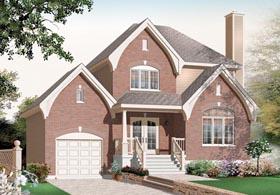 European Traditional House Plan 76259 Elevation
