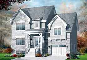 Traditional House Plan 76260 Elevation