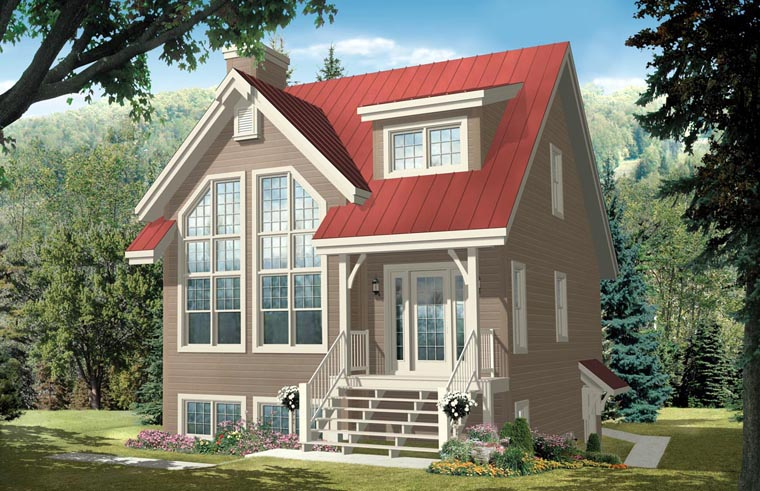 Coastal House Plan 76269 Elevation
