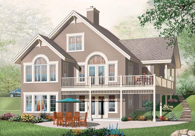 Coastal House Plan 76272 Elevation