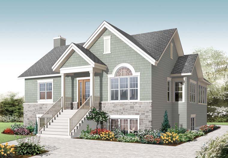 House Plan 76281
