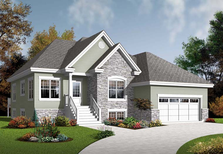Country House Plan 76287 Elevation