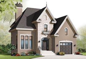 European House Plan 76301 Elevation