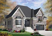 Plan Number 76303 - 1931 Square Feet