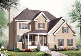 House Plan 76306 Elevation