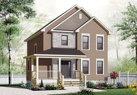Country House Plan 76312 Elevation