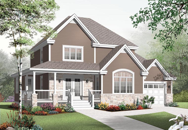 Country House Plan 76318 Elevation