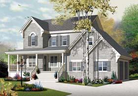 European House Plan 76322 Elevation