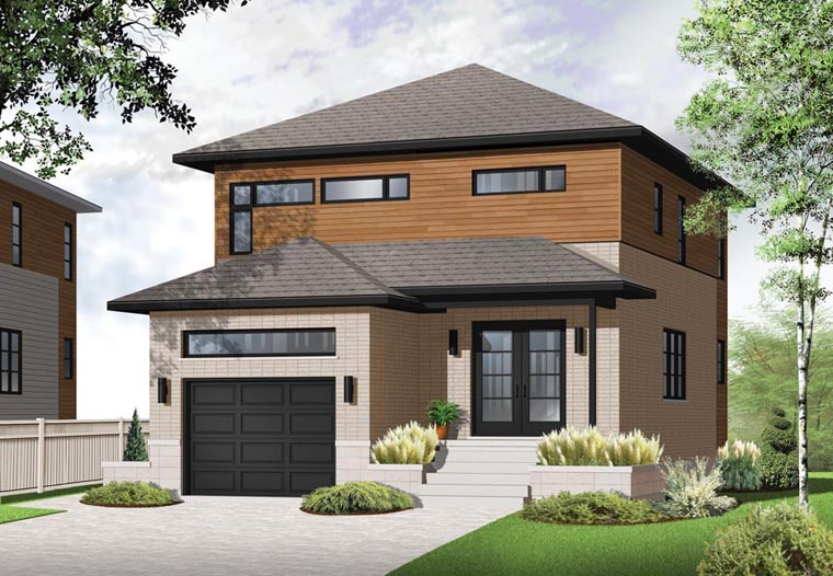 Contemporary House Plan 76325 Elevation
