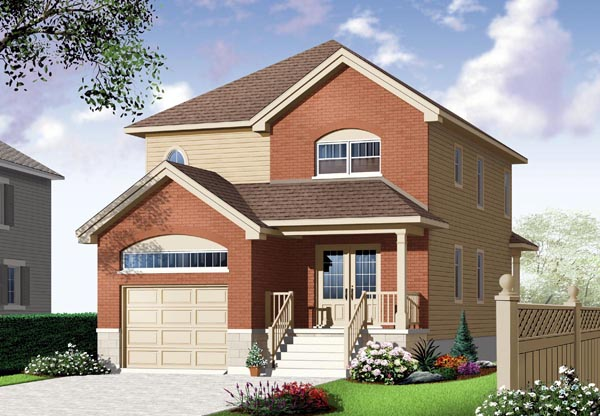 Country European House Plan 76326 Elevation