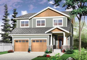 Country Craftsman House Plan 76328 Elevation