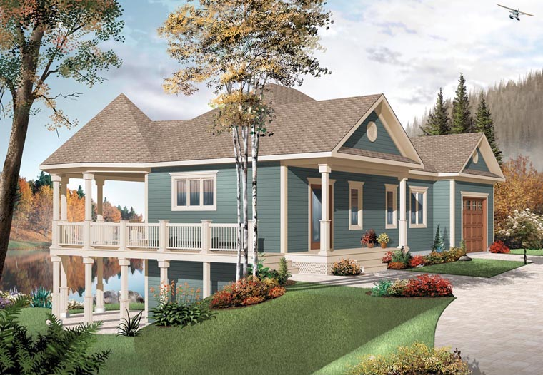 Cottage Country House Plan 76332 Elevation