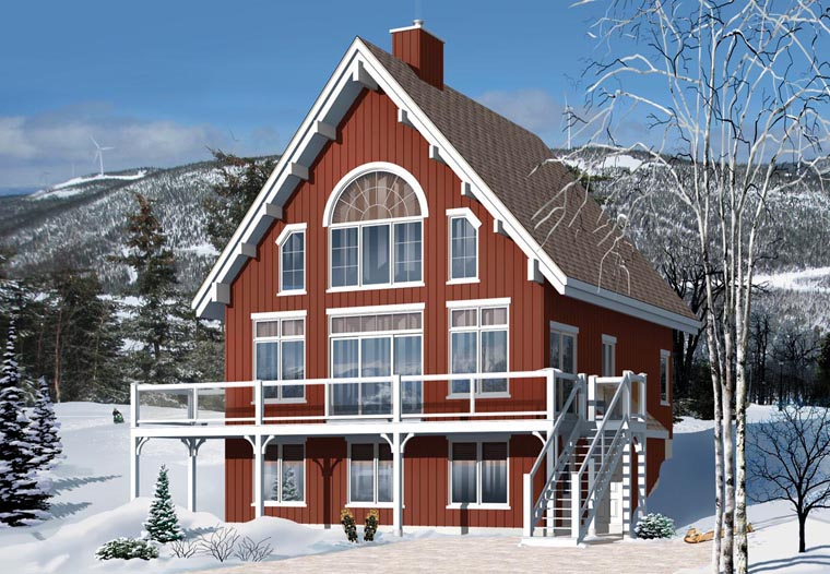 Cottage Craftsman House Plan 76334 Elevation