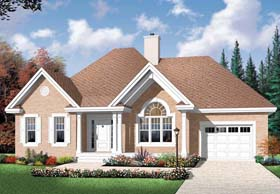 Country House Plan 76352 Elevation