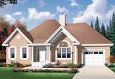 Plan Number 76352 - 1186 Square Feet