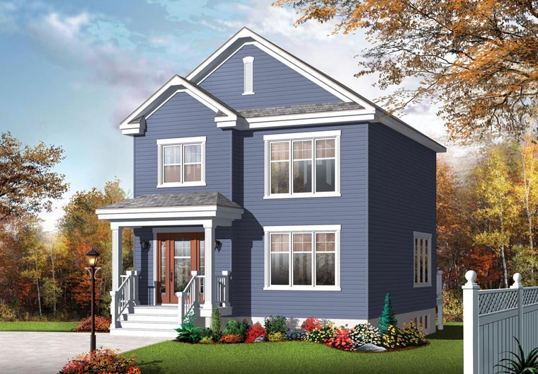 Country House Plan 76365 Elevation