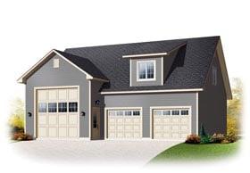 Country Garage Plan 76374 Elevation