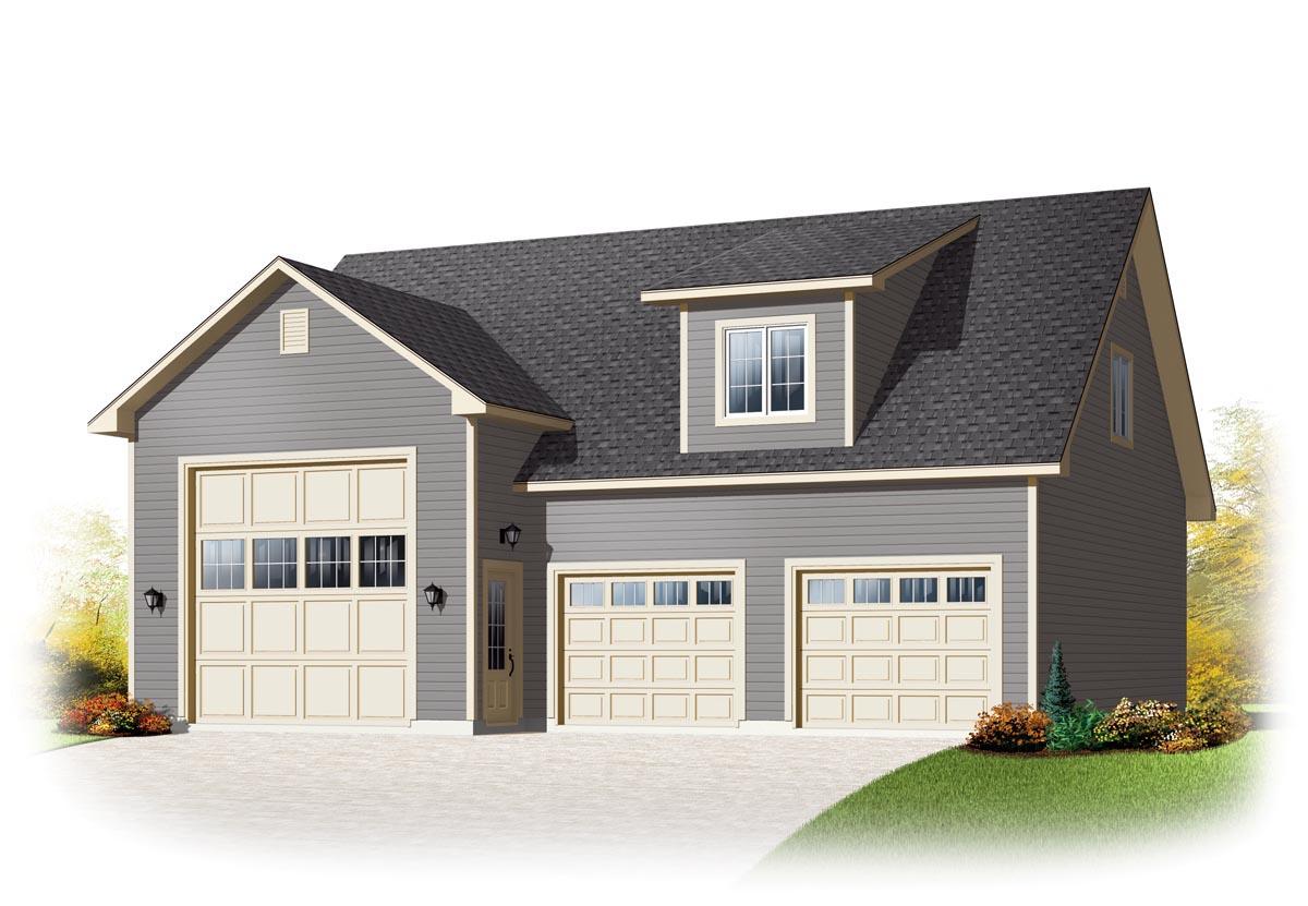 Garage plan 76374 at familyhomeplans.com