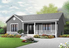 Country Traditional House Plan 76384 Elevation