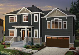Colonial Southern House Plan 76411 Elevation